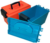 Water resistant dry boxes.